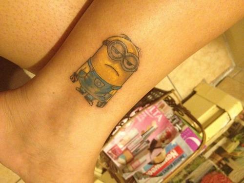 Tatuagens dos Minions de Meu Malvado Favorito 23