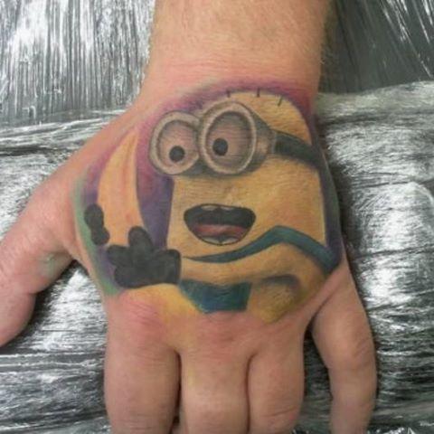 Tatuagens dos Minions de Meu Malvado Favorito 24