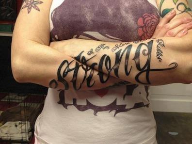 Tatuagens escritas - tatuagem escrita 04