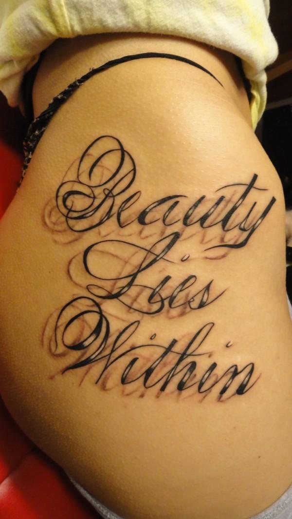 Tatuagens escritas - tatuagem escrita 13