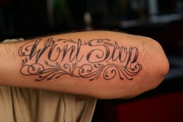 Tatuagens escritas - tatuagem escrita 18