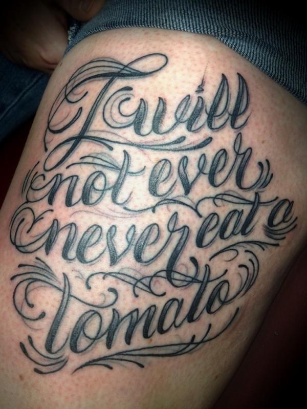 Tatuagens escritas - tatuagem escrita 23