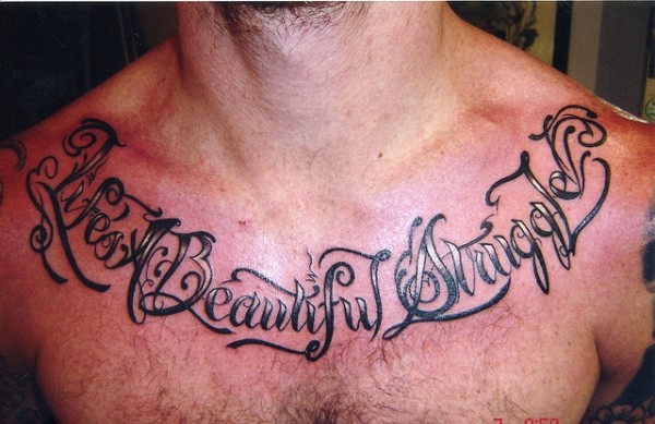 Tatuagens escritas - tatuagem escrita 24