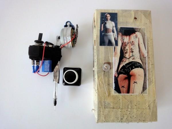 Maquinas de tatuagem de cadeia - Maquinas de tatuagem caseiras 35
