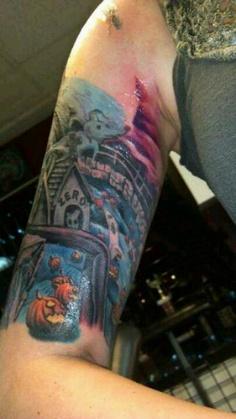 Tatuagens de O Estranho Mundo de Jack - Nightmare Before Christimas Tattoo 02