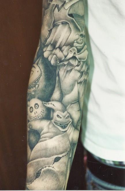Tatuagens de O Estranho Mundo de Jack - Nightmare Before Christimas Tattoo 05