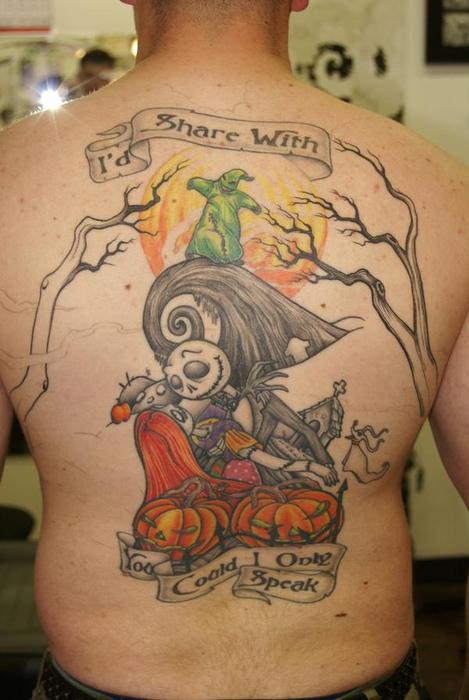 Tatuagens de O Estranho Mundo de Jack - Nightmare Before Christimas Tattoo 06