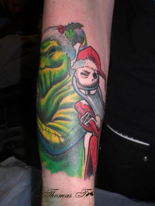 Tatuagens de O Estranho Mundo de Jack - Nightmare Before Christimas Tattoo 07