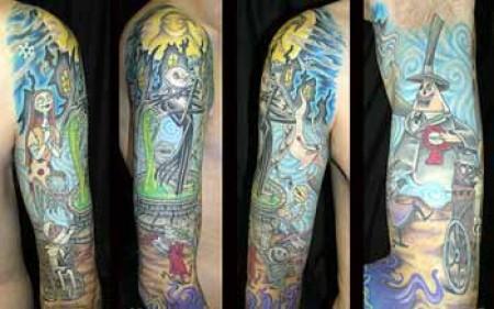 Tatuagens de O Estranho Mundo de Jack - Nightmare Before Christimas Tattoo 09