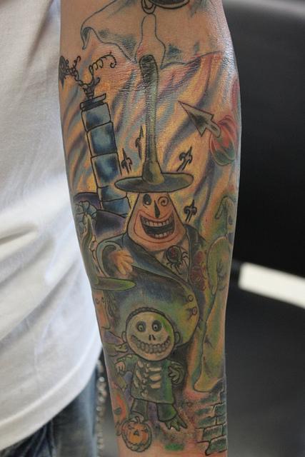 Tatuagens de O Estranho Mundo de Jack - Nightmare Before Christimas Tattoo 10