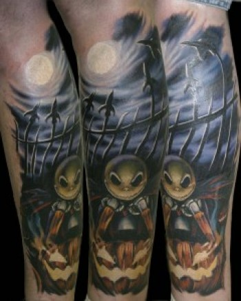 Tatuagens de O Estranho Mundo de Jack - Nightmare Before Christimas Tattoo 15