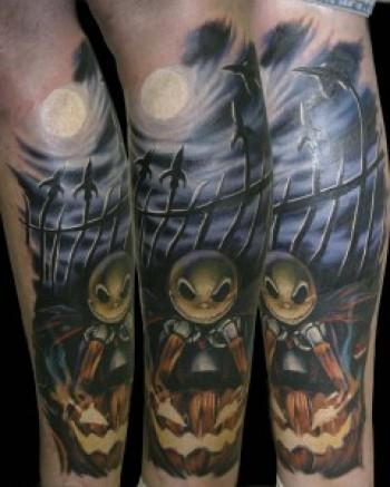 Tatuagens de O Estranho Mundo de Jack - Nightmare Before Christimas Tattoo 15
