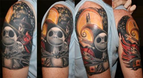 Tatuagens de O Estranho Mundo de Jack - Nightmare Before Christimas Tattoo 16