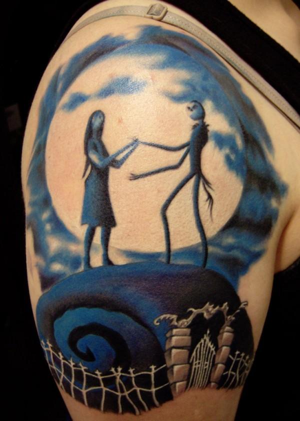 Tatuagens de O Estranho Mundo de Jack - Nightmare Before Christimas Tattoo 19