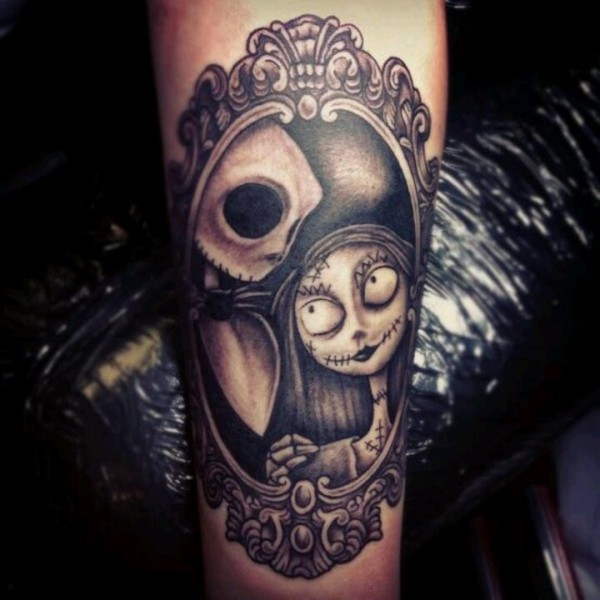 Tatuagens de O Estranho Mundo de Jack - Nightmare Before Christimas Tattoo 21