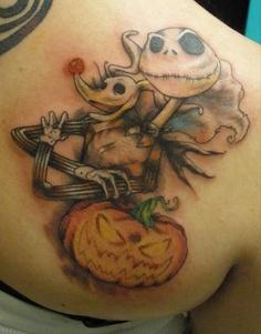 Tatuagens de O Estranho Mundo de Jack - Nightmare Before Christimas Tattoo 26