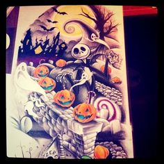 Tatuagens de O Estranho Mundo de Jack - Nightmare Before Christimas Tattoo 29