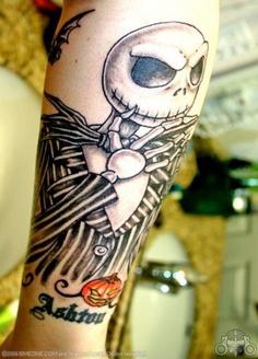 Tatuagens de O Estranho Mundo de Jack - Nightmare Before Christimas Tattoo 31