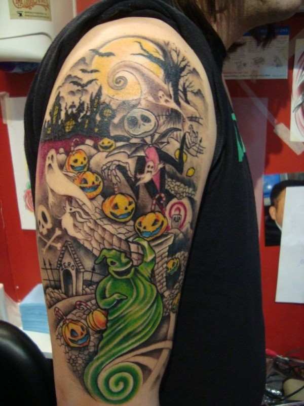 Tatuagens de O Estranho Mundo de Jack - Nightmare Before Christimas Tattoo 32