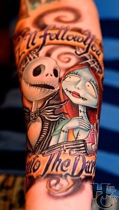 Tatuagens de O Estranho Mundo de Jack - Nightmare Before Christimas Tattoo 33