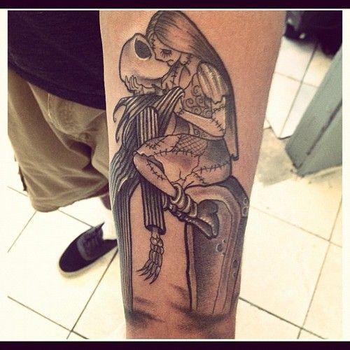 Tatuagens de O Estranho Mundo de Jack - Nightmare Before Christimas Tattoo 35
