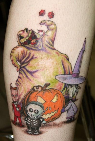 Tatuagens de O Estranho Mundo de Jack - Nightmare Before Christimas Tattoo 39