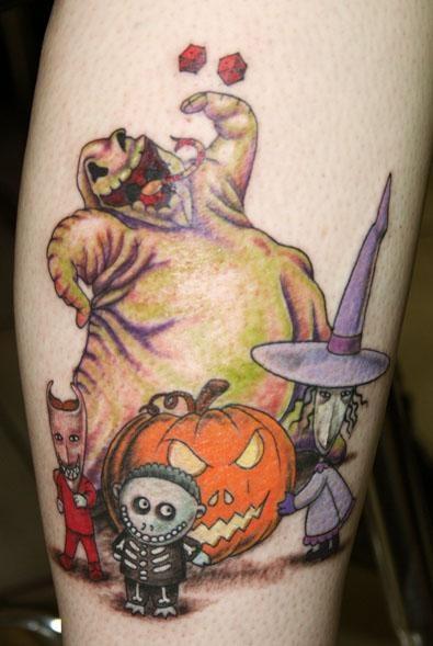 Tatuagens de O Estranho Mundo de Jack - Nightmare Before Christimas Tattoo 39