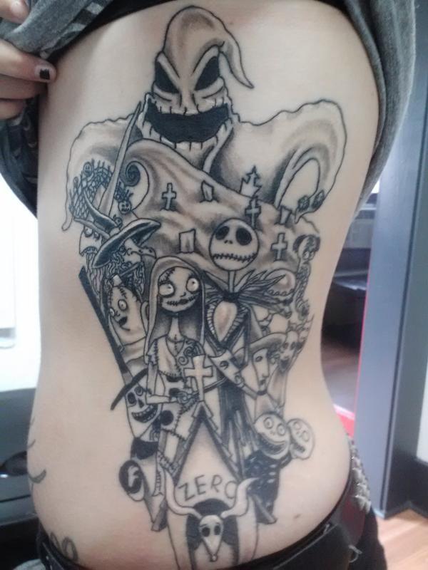 Tatuagens de O Estranho Mundo de Jack - Nightmare Before Christimas Tattoo 40