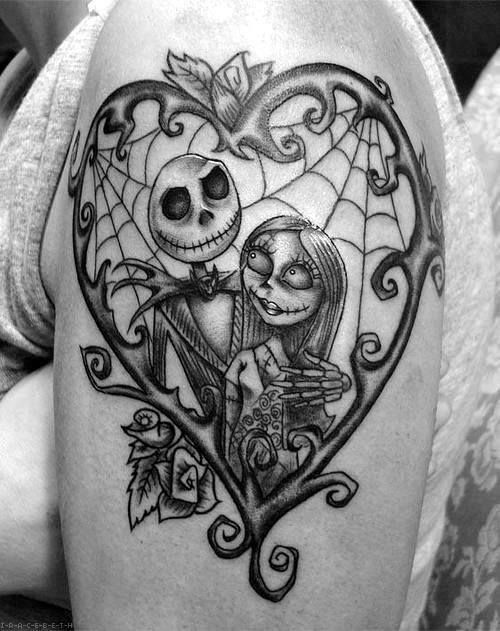 Tatuagens de O Estranho Mundo de Jack - Nightmare Before Christimas Tattoo 43