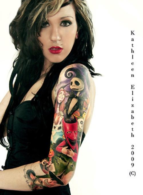 Tatuagens de O Estranho Mundo de Jack - Nightmare Before Christimas Tattoo 46