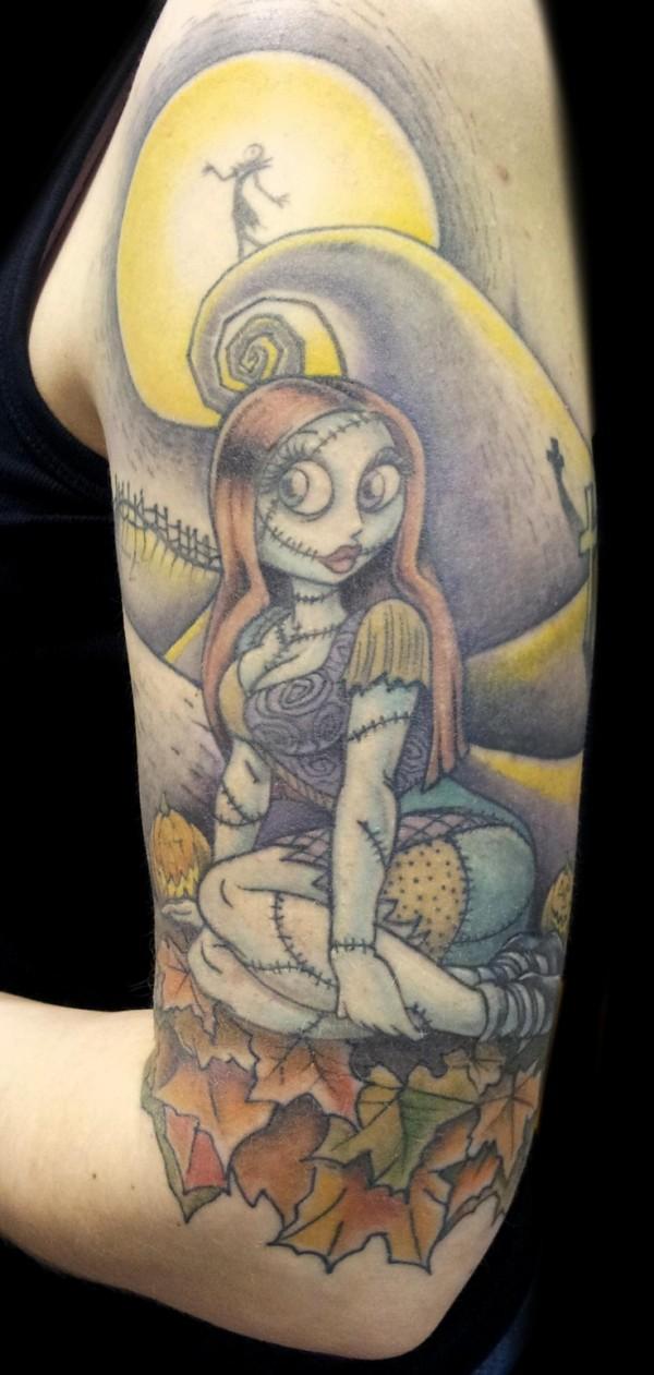 Tatuagens de O Estranho Mundo de Jack - Nightmare Before Christimas Tattoo 49