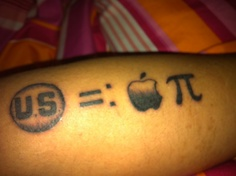 Tatuagens do logo da Apple 21