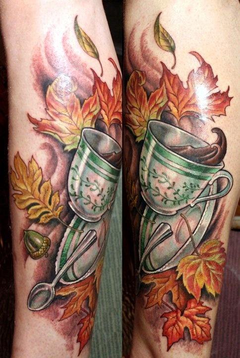 Tatuagens de fãs de café 03