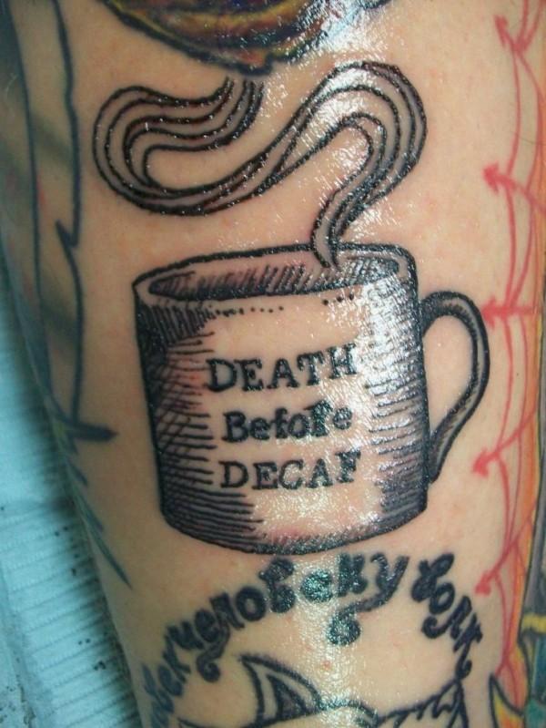 Tatuagens de fãs de café 09