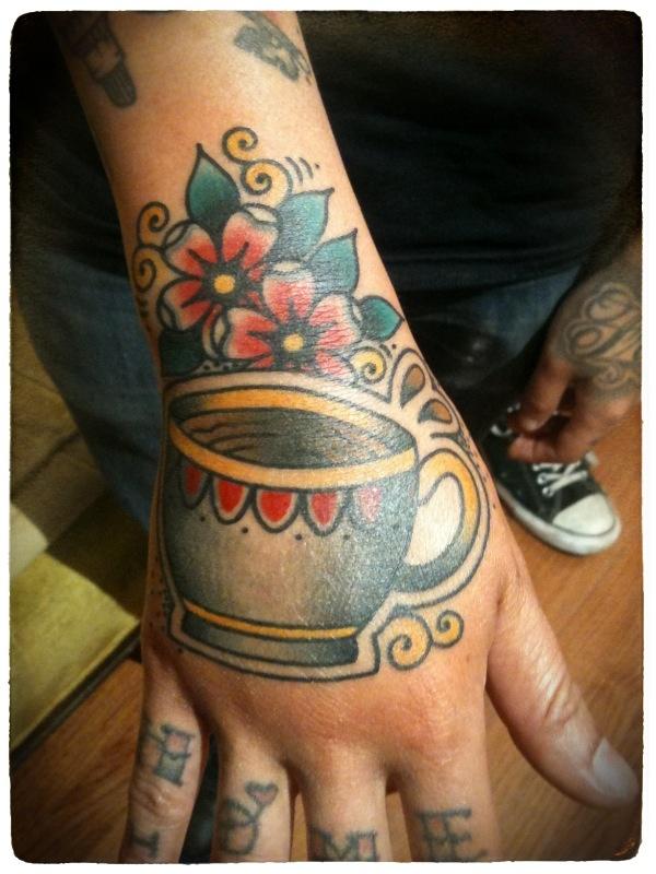 Tatuagens de fãs de café 10