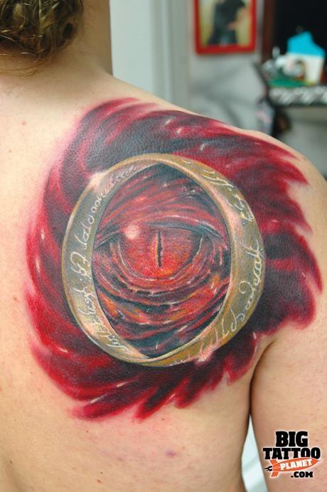 Tatuagens do filme O Senhor dos Aneis 01