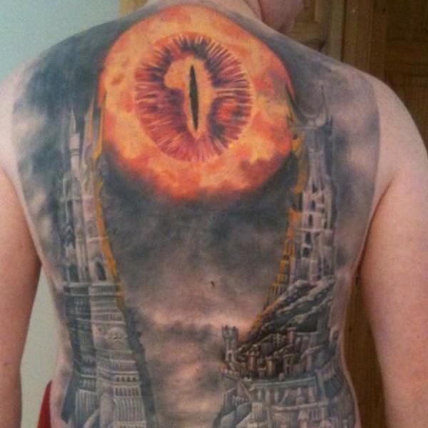 Tatuagens do filme O Senhor dos Aneis 03