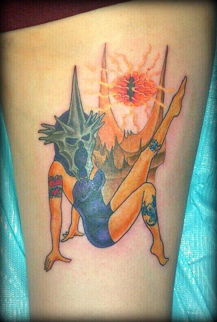 Tatuagens do filme O Senhor dos Aneis 05