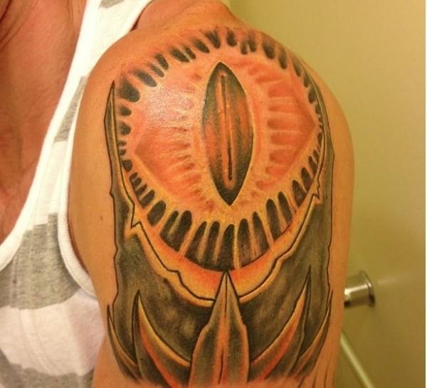 Tatuagens do filme O Senhor dos Aneis 06