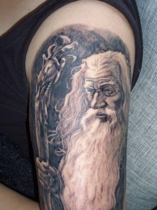 Tatuagens do filme O Senhor dos Aneis 07