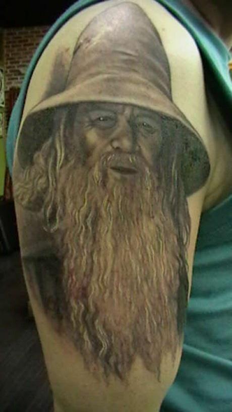 Tatuagens do filme O Senhor dos Aneis 09