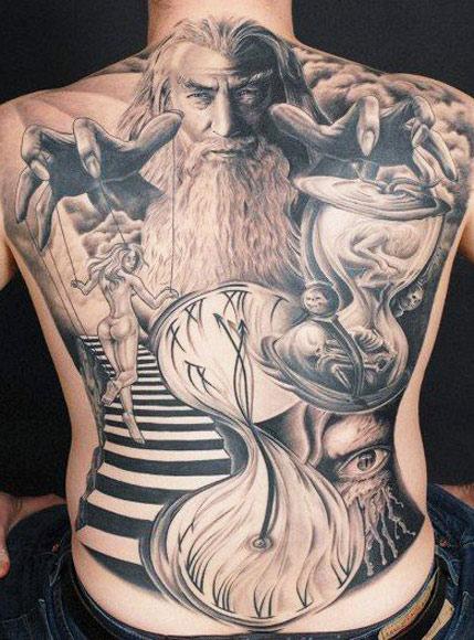 Tatuagens do filme O Senhor dos Aneis 10