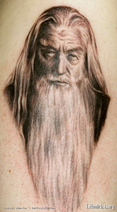 Tatuagens do filme O Senhor dos Aneis 13