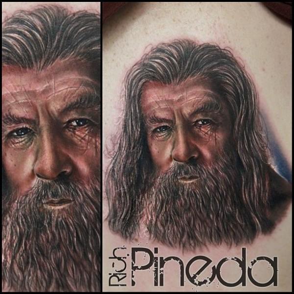 Tatuagens do filme O Senhor dos Aneis 15