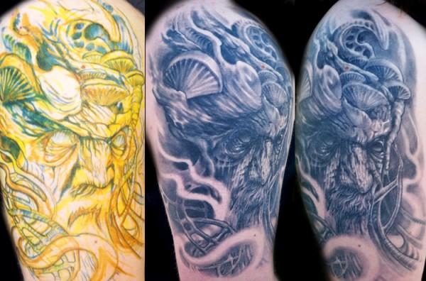 Tatuagens do filme O Senhor dos Aneis 16