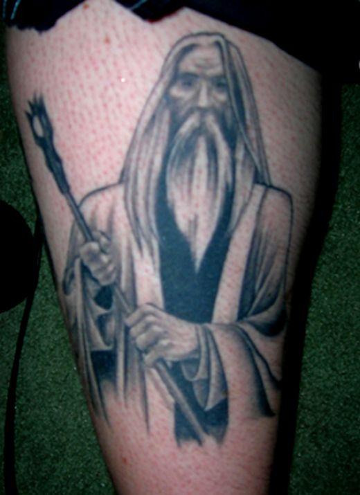 Tatuagens do filme O Senhor dos Aneis 20