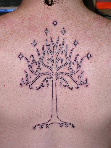 Tatuagens do filme O Senhor dos Aneis 21