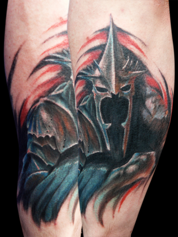 Tatuagens do filme O Senhor dos Aneis 23