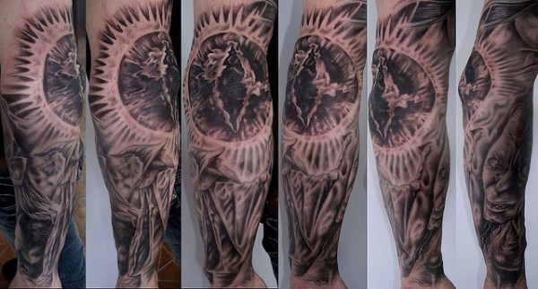 Tatuagens do filme O Senhor dos Aneis 25