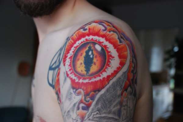 Tatuagens do filme O Senhor dos Aneis 26